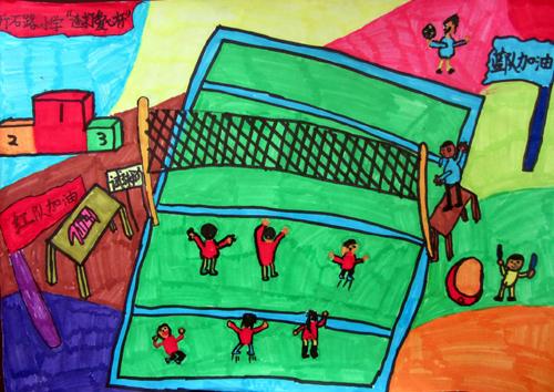 五年级美术期末考试绘画作品_第4页_画画大全