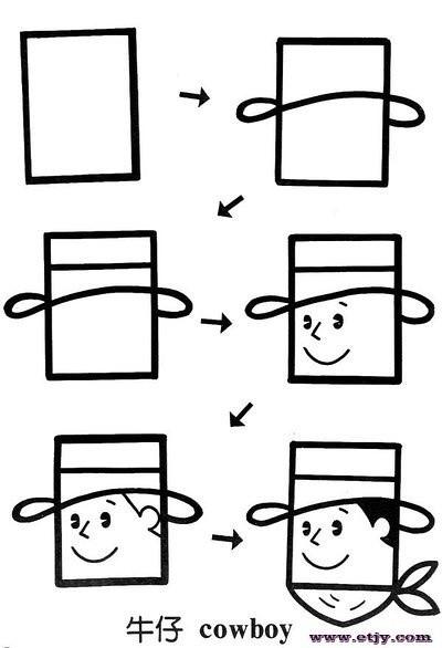 简单几何图形——简笔画